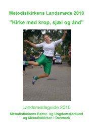 Guide 2010 - Metodistkirken i Danmark