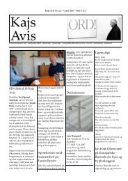 Nummer 22 - KAJ´s AVIS