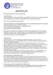 BERETNING 2010 - Varde Lokalhistoriske Arkiv