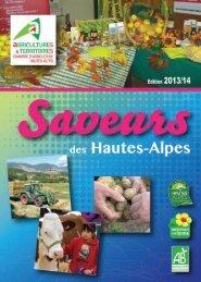Mise en page 1 - Chambre d'agriculture des Hautes-Alpes