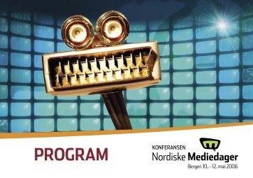 foredragsholdere - Nordiske Mediedager