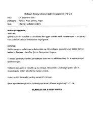 Referat Bestyrelsesmøde Engdalsvej 7 L-73 - Ejerforeningen ...