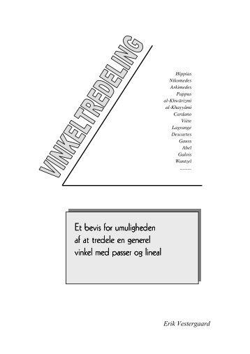 Tredeling af vinkler - Vestergaards Matematik Sider