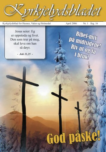 Kyrkjelydsbladet - Kyrkja i Kvinnherad