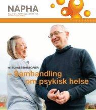 NI SUKSESSHISTORIER - samhandling om psykisk helse - NAPHA.no