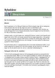 Nyhedsbrev uge 41 - 2012 - Ollerup Friskole