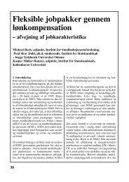 (2004) Fleksible jobpakke rgennem lønkompensation - Kasper M ...