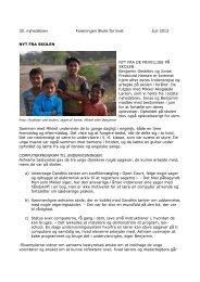 30. nyhedsbrev Foreningen Skole for livet Juli 2012 NYT FRA ...