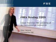 FBEs Årsdag 2009 - FUHU