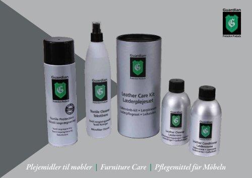 Plejemidler til møbler | Furniture Care | Pflegemittel für Möbeln - Ilva