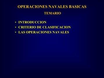 Operaciones Navales Básicas