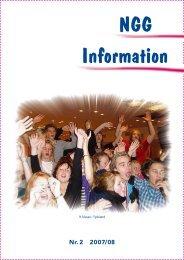 NGG-Information #2 2007-2008 - Nordsjællands Grundskole og ...