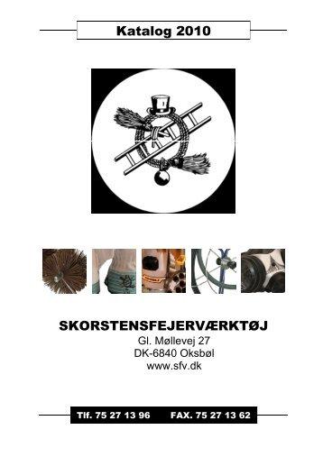 Katalog 2010 SKORSTENSFEJERVÆRKTØJ - SFV-Shop ...