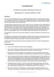 Tilsynsrapport nov 09.pdf - Reden København