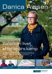Balance i livet efter to års kamp - Danica Pension