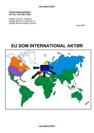 eu som international aktør