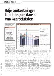 Høje omkostninger kendetegner dansk ... - LandbrugsInfo