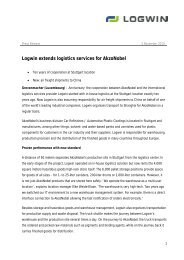Logwin extends logistics services for Akzonobel