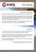 Elwis Lighting De professionelles valg - Page 2