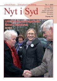 Nyt i Syd 01-2010 - Luthersk Mission, Sønderjyllands Afdeling
