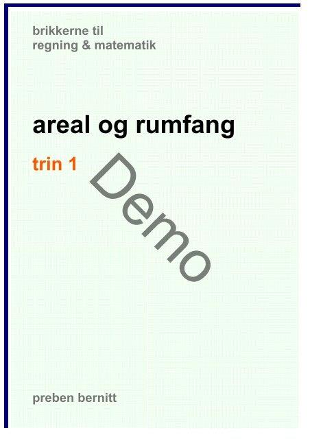 29ad1bb69 areal og rumfang, trin 1 - Bernitt matematik