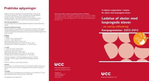 Ledelse af skoler med tosprogede elever - Mere viden: UCC kursus ...