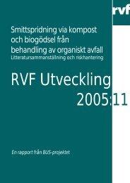 Smittspridning via kompost och biogödsel från ... - Avfall Sverige