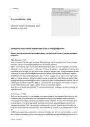 Udvalgenes begrundelser for tildelingen af de 25 treårige ... - Kunst.dk