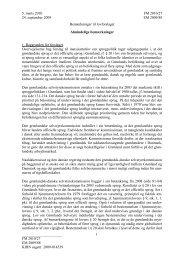Bemærkninger til lovforslaget - Kamikposten
