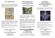 Den indianske vej Det holistiske touch ceremoniel workshop Årets ...