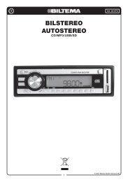 Bilstereo Autostereo - Biltema