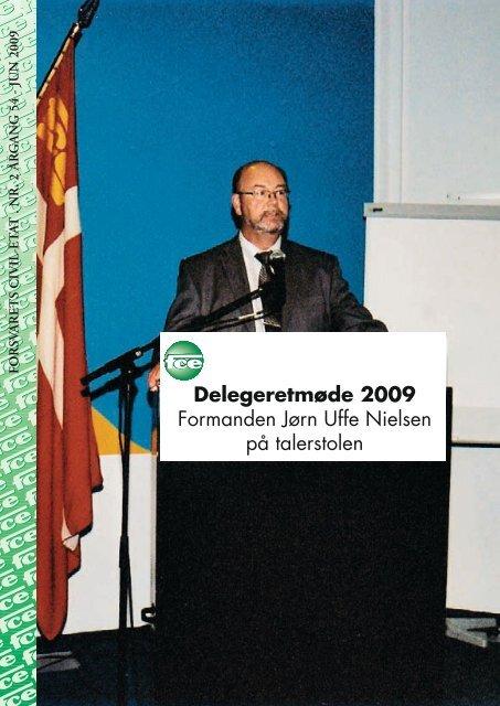 Delegeretmøde 2009 Formanden Jørn Uffe Nielsen på ... - FCE