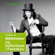 Favrskov, Foraar 2010 - Centralbibliotek