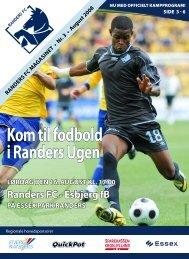 august 2008 - Randers FC vs Esbjerg fB