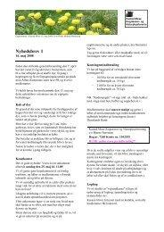 Nyhedsbrev 1-2008 - Kasted Mose Kogræsser