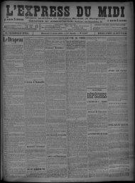17 Avril 1901 - Bibliothèque de Toulouse