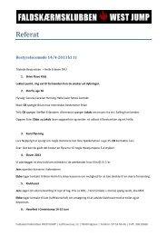 Referat af bestyrelsesmøde d. 14. april 2013 - Faldskærmsklubben ...