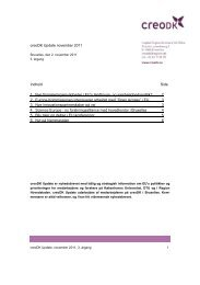 creoDK Update november 2011 - Region Hovedstaden