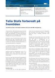 Telia Stofa forberedt på fremtiden - Dell