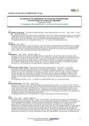 Et udvalg af TV-udsendelser om klima og klimaændringer fra VIA ...