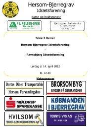 H-B-I - Ravnsbjerg IF S.2 14-4-2012 - Hersom-Bjerregrav ...