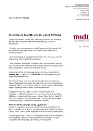 Forskningens Dag 2011 den 11. maj på RH Viborg - Hospitalsenhed ...