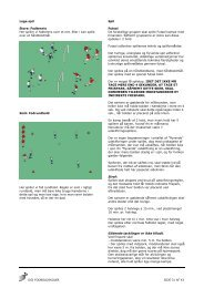 DGI's Fodboldskole 2009 - del 3