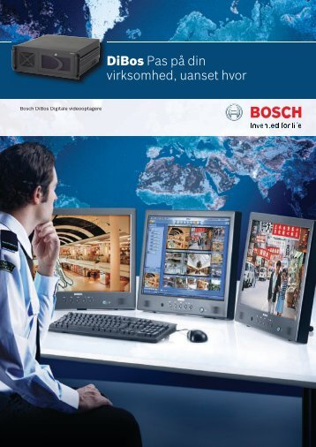 300973-3_DiBos US facelift.indd - Bosch Security Systems