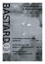 Afdelingsblad for - sispunktum