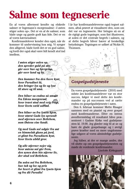 2011 Kirkeblad nr. 1 December - marts 2010/11 - Gudme-Brudager ...