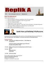 Sankt Hans på Bellahøj Friluftsscene - Socialdemokraterne i ...
