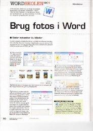 Brug fotos i Word - Aakirkeby datastue