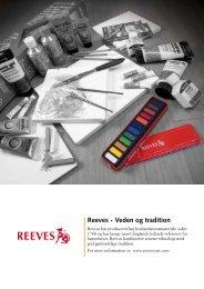 Reeves - Veden og tradition - Colart