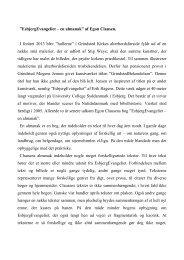 """EsbjergEvangeliet – en almanak"""" af Egon Clausen ... - Grindsted Sogn"""
